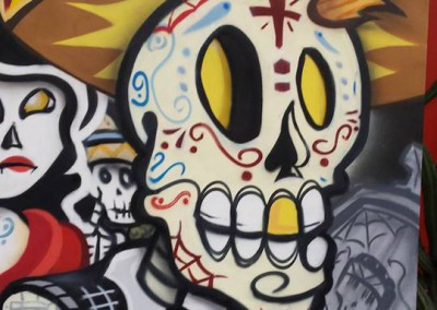 Day of the Dead Festival Live Art Expo 1