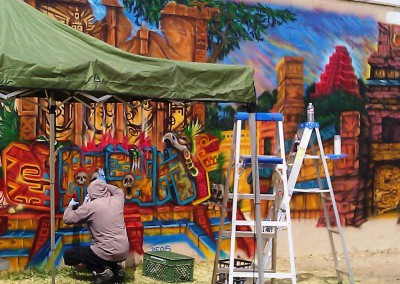 Town of Guadalupe Community Mural 3