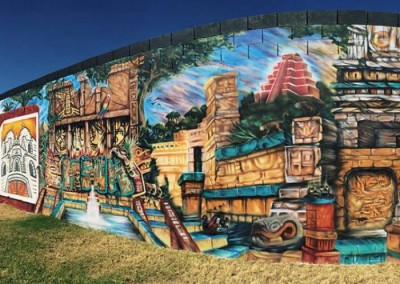 Town of Guadalupe Community Mural 2